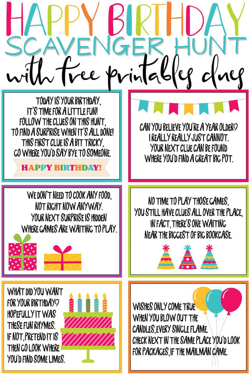 non-party birthday ideas for kids